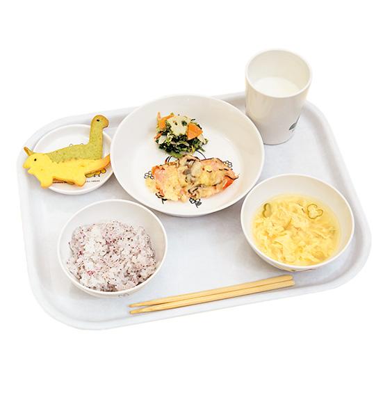 津幡とくの幼稚園の給食