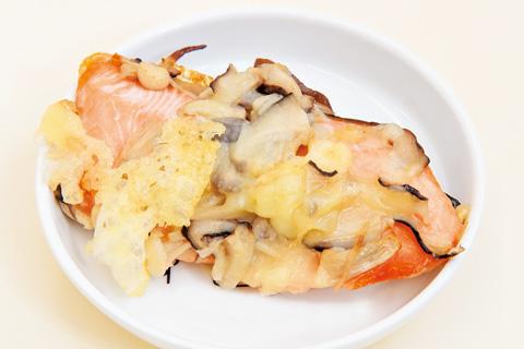 鮭のきのこチーズ焼き