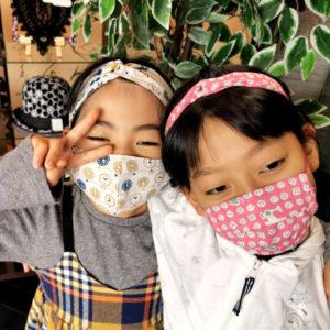 日本製のお仕立て布マスク