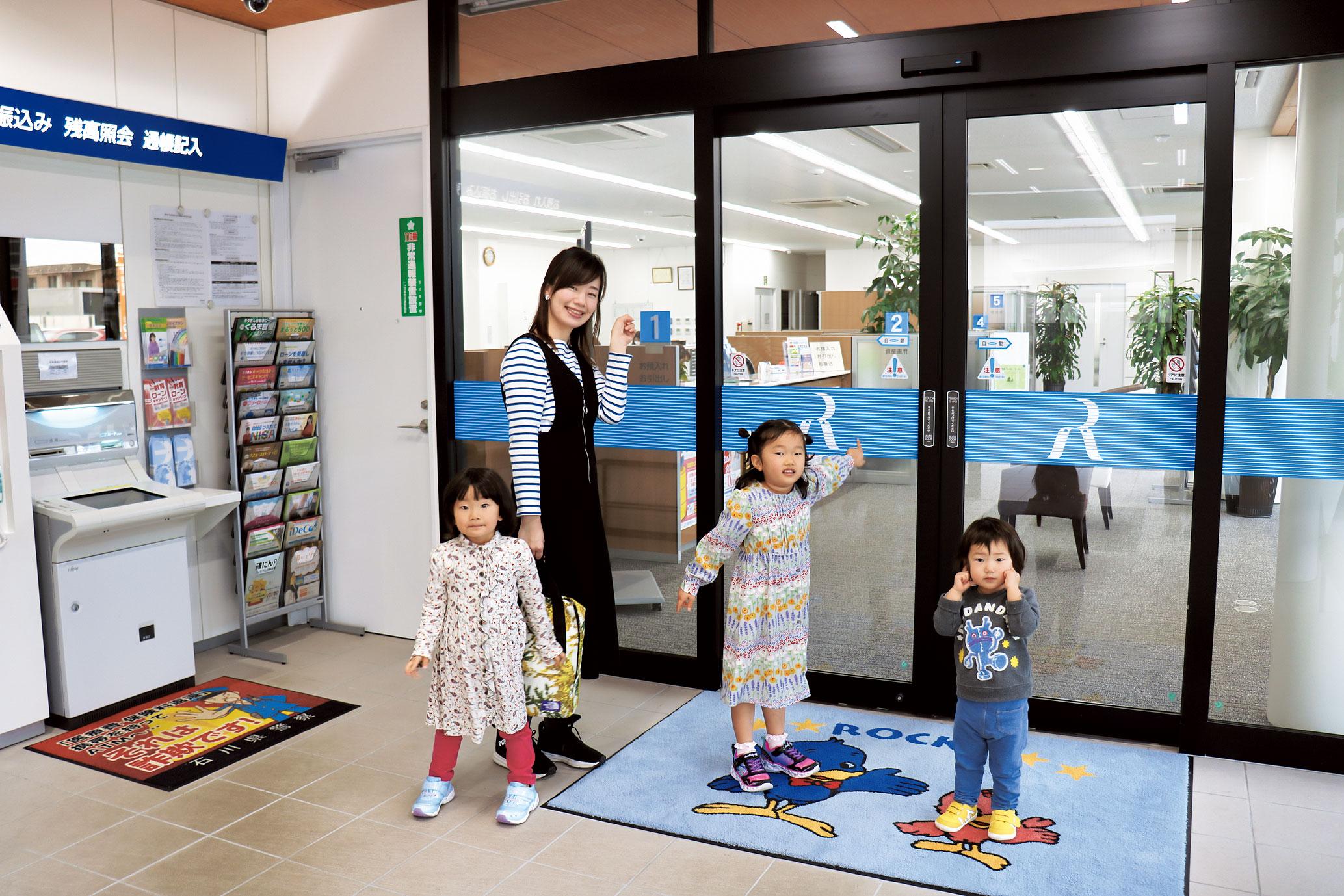 駐車場が広くて子どもを連れて行きやすく、らくらく入店♪