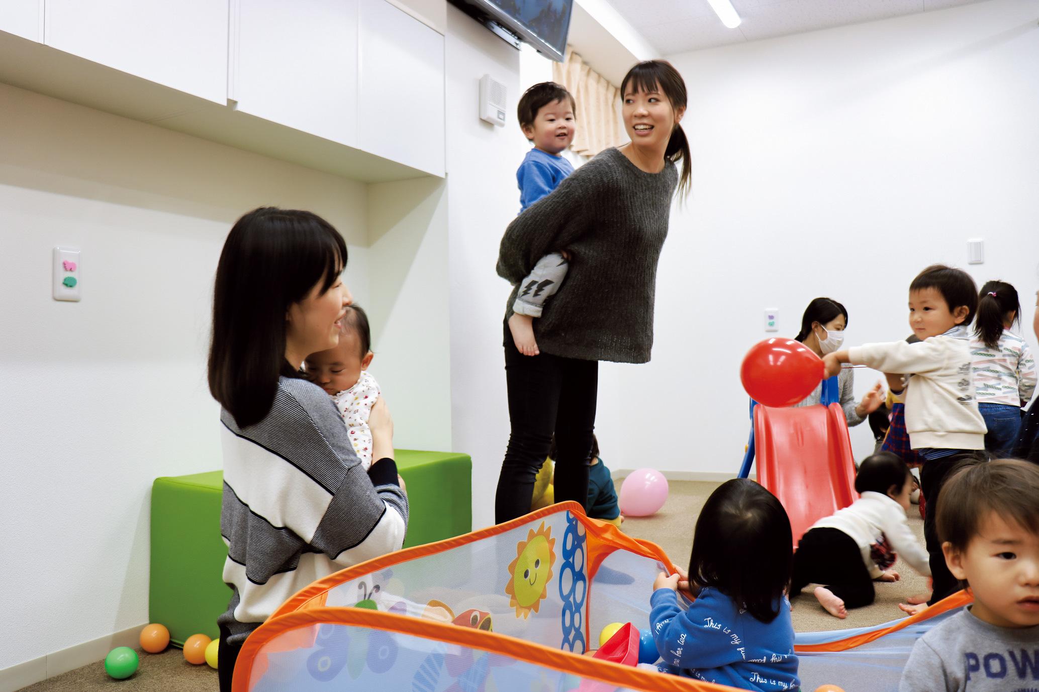 保育士一人ひとりが子どもたちと向き合っている姿はママには嬉しい!